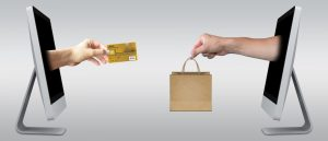 company website transaction