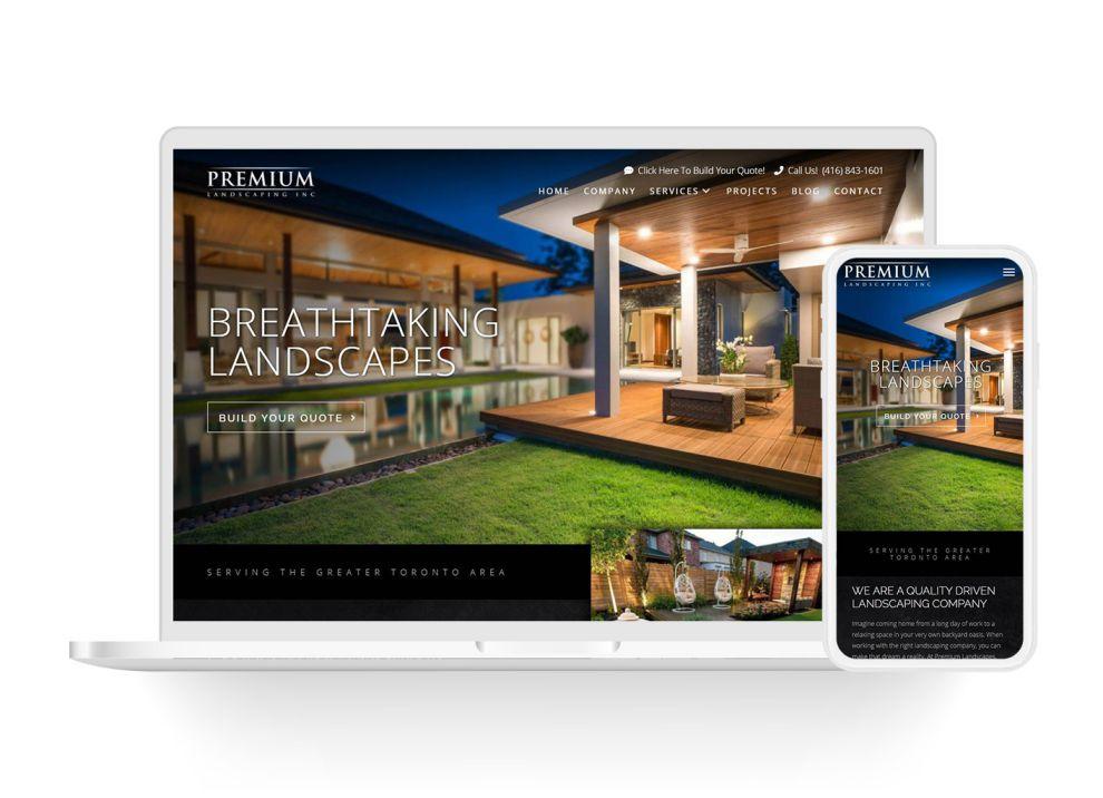 premium landscaping featured image